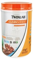 Image of Twinlab - Clean Series Sport Protein Whey/Casein Blend Creamy Cocoa - 1.75 lbs. CLEARANCED PRICED