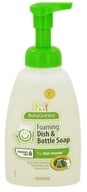 BabyGanics - Foaming Dish & Bottle Soap The Dish Dazzler Fragrance Free - 16 oz. (813277012429)