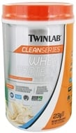 Twinlab - Clean Series Whey Protein Isolate Vanilla Wave - 1.5 lbs. by Twinlab