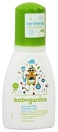 BabyGanics - Foaming Dish & Bottle Soap The Dish Dazzler Fragrance Free - 3.38 oz. CLEARANCED PRICED - $3.26