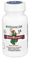 Vitanica - SleepBlend Sleep Support - 15 Vegetarian Capsules CLEARANCED PRICED - $3.65