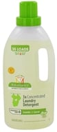 Image of BabyGanics - Laundry Detergent 3X Concentrated Loads of Love Fragrance Free - 35 oz. CLEARANCED PRICED