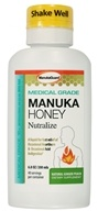 Manuka Guard - Nutralize With Certified Medical Grade Active Manuka Honey Natural Ginger Peach - 7 oz. (858631002005)