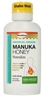 Image of Manuka Guard - Nutralize With Certified Medical Grade Active Manuka Honey Natural Ginger Peach - 7 oz.
