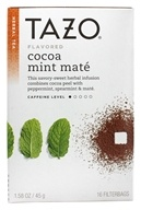 Tazo - Herbal Tea Cocoa Mint Mate - 16 Tea Bags (762111938794)