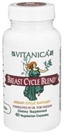 Vitanica - Breast Cycle Blend - 60 Vegetarian Capsules CLEARANCED PRICED (708118020353)