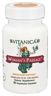 Image of Vitanica - Woman's Passage Menopause Support - 30 Vegetarian Capsules