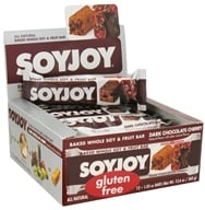 Image of SoyJoy - All Natural Baked Whole Soy & Fruit Bar Dark Chocolate Cherry - 1.05 oz.