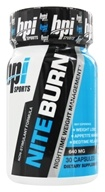 BPI Sports - Nite-Burn Nighttime Weight Management - 30 Capsules, from category: Sports Nutrition