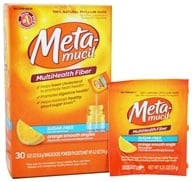 Metamucil - MultiHealth Fiber Singles Orange Smooth - 30 x .21 oz. Packets - $13.14