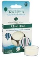 Image of Way Out Wax - Tealights Clear Head - 4 Pack