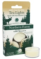 Way Out Wax - Tealights Northern Forest - 4 Pack by Way Out Wax