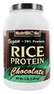 Nutribiotic - Vegan Rice Protein Chocolate - 3 lbs. - $37.49