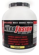 NitroFusion - Multi Source Protein Vanilla - 5 lbs., from category: Health Foods