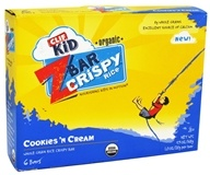 Image of Clif Bar - Kid Z-Bar Organic Crispy Rice Bars Cookies 'N Cream - 6 Bars
