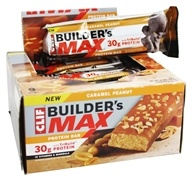 Clif Bar - Builder's Max Protein Bar Caramel Peanut - 3.4 oz., from category: Sports Nutrition