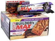 Clif Bar - Builder's Max Protein Bar Chocolate Chip Cookie Dough - 3.4 oz., from category: Sports Nutrition