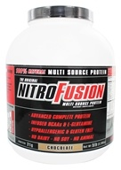 NitroFusion - Multi Source Protein Chocolate - 5 lbs., from category: Health Foods