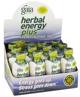 Image of Gaia Herbs - Herbal Energy Plus Stress Response - 2 oz.