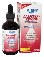 Image of Healthy Natural Systems - Fat Drop Raspberry Ketone Liquid Diet Drops - 2 oz.