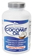 Healthy Natural Systems - Coconut Oil Organic Extra Virgin - 120 Softgels