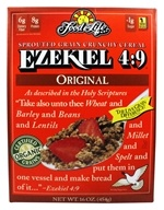 Food For Life - Ezekiel 4:9 Sprouted Whole Grain Cereal Original - 16 oz. (073472002551)
