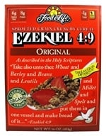 Food For Life - Ezekiel 4:9 Sprouted Whole Grain Cereal Original - 16 oz. - $5.49