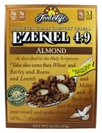 Food For Life - Ezekiel 4:9 Sprouted Whole Grain Cereal Almond - 16 oz., from category: Health Foods