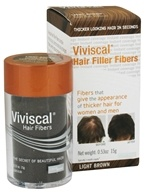 Image of Viviscal - Hair Filler Fibers Light Brown - 0.53 oz. CLEARANCED PRICED