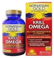 Image of ReNew Life - Norwegian Gold Krill Omega Natural Orange - 30 Softgels