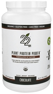 22 Days Nutrition - Plant Protein Power Chocolate - 29.6 oz. CLEARANCED PRICED, from category: Health Foods