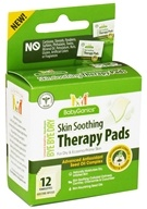 BabyGanics - Skin Soothing Therapy Pads Bye Bye Dry - 12 Towelette(s) CLEARANCED PRICED