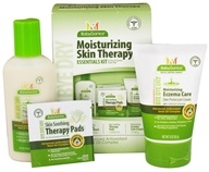 Image of BabyGanics - Moisturizing Skin Therapy Essentials Kit Bye Bye Dry - 3 Piece(s) CLEARANCED PRICED