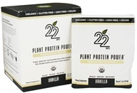 22 Days Nutrition - Plant Protein Power Vanilla - 10 x 1.3 oz. Packets (853409003079)