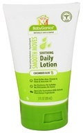 BabyGanics - Daily Lotion Smooth Moves Soothing Cucumber Aloe - 3 oz. CLEARANCED PRICED
