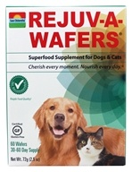 Sun Chlorella - Rejuv-A-Wafers Superfood Supplement for Cats & Dogs - 60 Wafers by Sun Chlorella