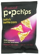 Popchip - Katy's Kettle Corn All Natural - 1 oz.