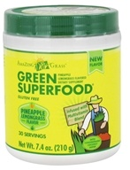 Amazing Grass - Green Superfood 30 Servings Pineapple Lemongrass - 7.4 oz. by Amazing Grass