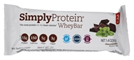The Simply Bar - Simply Whey Protein Bar Chocolate Mint - 1.4 oz., from category: Sports Nutrition