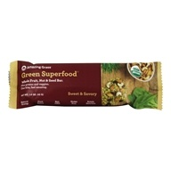 Amazing Grass - Green Superfood Whole Food Energy Bar Sweet & Savory Almond - 1.6 oz.