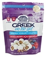 Rickland Orchards - Greek On The Go Granola Bites Mixed Berry Acai - 6.5 oz.