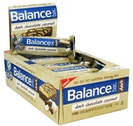Balance - Nutrition Energy Bar Dark Chocolate Coconut - 1.58 oz. by Balance