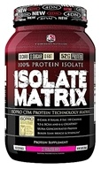 4 Dimension Nutrition - 100% Protein Isolate Matrix Strawberry - 3 lbs. CLEARANCED PRICED (856036003269)
