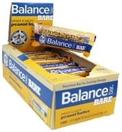 Balance - Nutrition Energy Bar Bare Sweet & Salty Peanut Butter - 1.76 oz. by Balance