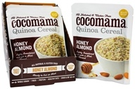 Cocomama - Quinoa Cereal Honey Almond - 5 oz. by Cocomama