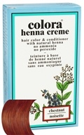 Colora - Henna Creme Hair Color & Conditioner Chestnut - 2 oz. by Colora