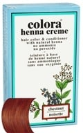 Colora - Henna Creme Hair Color & Conditioner Chestnut - 2 oz., from category: Personal Care