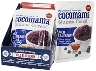 Cocomama - Quinoa Cereal Wild Blueberry - 5 oz., from category: Health Foods