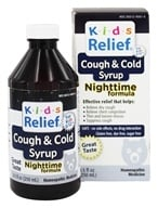 Homeolab USA - Kids Relief Cough & Cold Nighttime Formula - 8.5 oz. by Homeolab USA