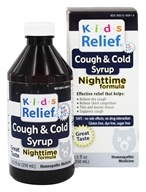 Image of Homeolab USA - Kids Relief Cough & Cold Nighttime Formula - 8.5 oz.